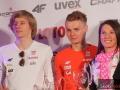 Dawid Kubacki, Jan Ziobro i Sylwia Jaśkowiec, fot. Julia Piątkowska