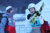 Adam Małysz i Aleksander Zniszczoł (fot. Julia Piątkowska)