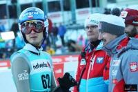 Maciej Kot i Adam Małysz (fot. Julia Piątkowska)