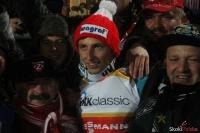 Krzysztof Biegun z kibicami, fot. Julia Piątkowska