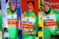 A.Wellinger, R.Freitag, S.Freund, fot. Julia Piątkowska