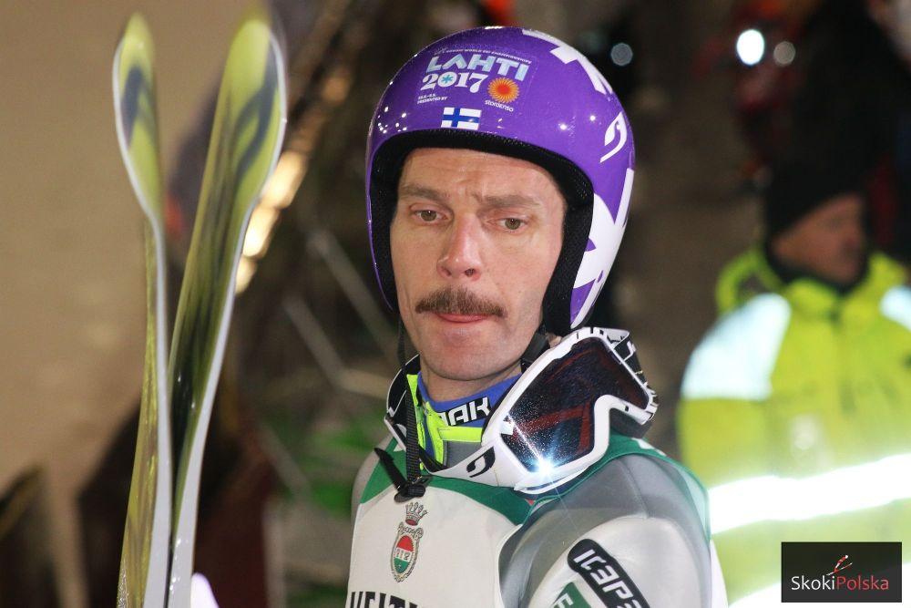 Janne Ahonen w Kuusamo, fot. Julia Piątkowska