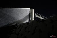 Znicz olimpijski na skoczni w Lillehammer, fot. Julia Piątkowska