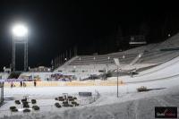 Trybuny na skoczni w Lillehammer, fot. Julia Piątkowska