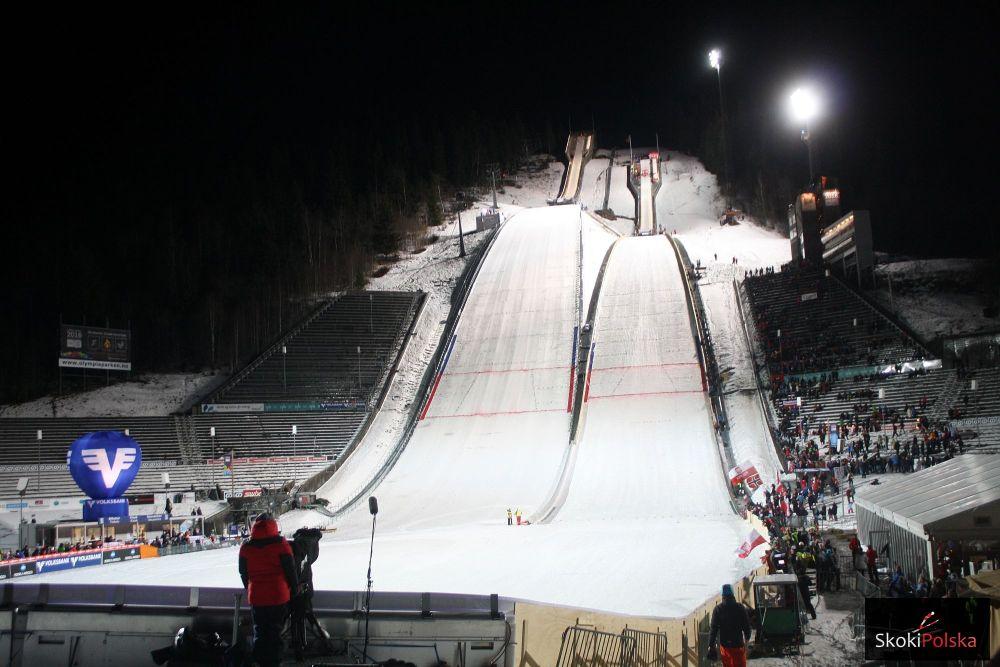 Kompleks skoczni 'Lysgaardsbakken' w Lillehammer (fot. Julia Piątkowska)