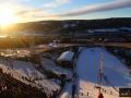 Widok ze skoczni w Lillehammer, fot. Julia Piątkowska