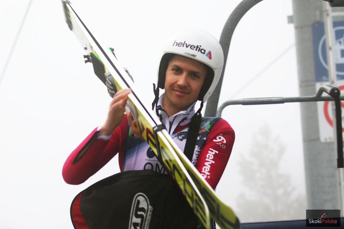 Simon Ammann, fot. Julia Piątkowska