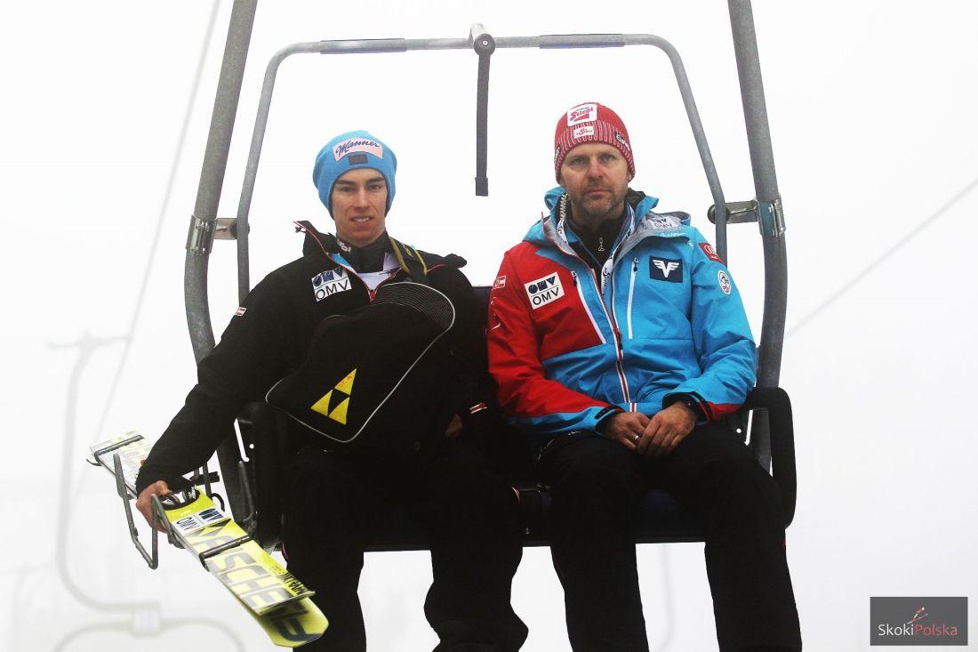 Stefan Kraft (po lewej), fot. Julia Piątkowska