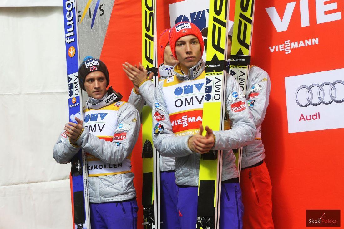 Norwegowie na podium, fot. Julia Piątkowska