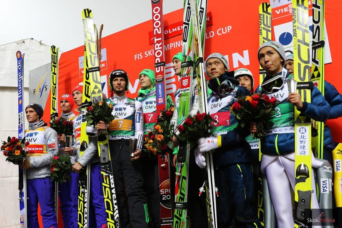 Norwegowie, Słoweńcy i Japończycy na podium, fot. Julia Piątkowska