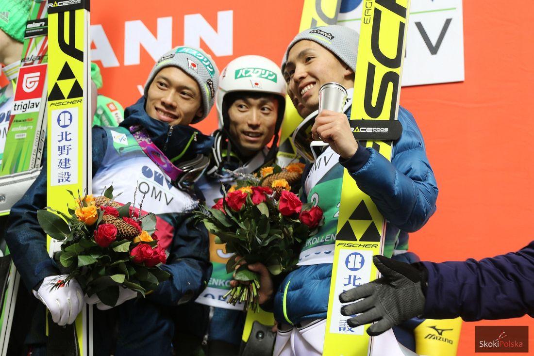 Japończycy (Takeuchi, Ito, Sakuyama), fot. Julia Piątkowska
