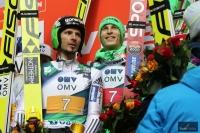 Robert Kranjec i Jurij Tepes, fot. Julia Piątkowska
