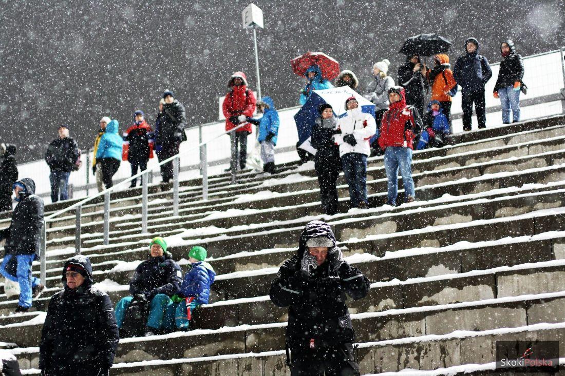 Kibice na Holmenkollbakken w Oslo, fot. Julia Piątkowska