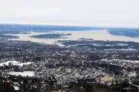 Widok ze wzgórza Holmenkollen, fot. Julia Piątkowska