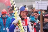 Andreas Goldberger jako przedskoczek, fot. Frederik Clasen