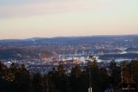 Widok ze wzgórza Holmenkollen w Oslo, fot. Julia Piątkowska