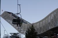 Rozbieg skoczni w Oslo-Holmenkollen, fot. Julia Piątkowska
