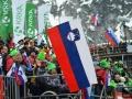 Słoweńscy kibice w Planicy, fot. Bartosz Leja