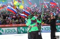 Słoweńsca drużyna w Planicy, fot. Julia Piątkowska