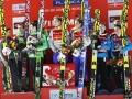 Słoweńcy, Norwegowie i Austriacy na podium w Planicy, fot. Julia Piątkowska