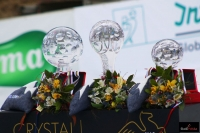 Kryształowe trofea dla najlepszych w PŚ (fot. Julia Piątkowska)