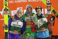 Podium konkursu (od lewej: D.A.Tande, S.Freund, M.Fettner), fot. Julia Piątkowska