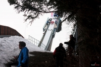 \'Heini-Klopfer-Skiflugschanze\' w Oberstdorfie (fot. Frederik Clasen)