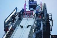 Skoczek na rozbiegu 'Heini-Klopfer-Skiflugschanze' w Oberstdorfie (fot. Frederik Clasen)