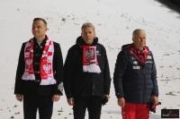 Prezydent Andrzej Duda (w środku) i Prezes Apoloniusz Tajner (po prawej), fot. Julia Piątkowska