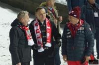 Prezydent Andrzej Duda (w środku) i Prezes PZN Apoloniusz Tajner (fot. Julia Piątkowska)