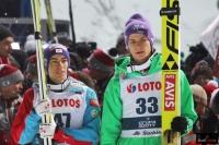 Stefan Kraft i Andreas Wellinger (fot. Julia Piątkowska)
