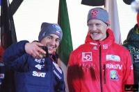 Kamil Stoch i Robert Johansson (fot. Bartosz Leja)