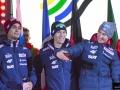 Maciej Kot, Stefan Hula i Kamil Stoch (fot. Bartosz Leja)