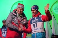Apoloniusz Tajner i Stefan Kraft (fot. Julia Piątkowska)
