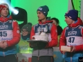 Michael Hayboeck, Maciej Kot, Stefan Kraft (fot. Julia Piątkowska)