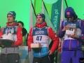 Maciej Kot, Stefan Kraft, Daniel Andre Tande (fot. Julia Piątkowska)