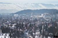 Widok z zakopiańskiej Wielkiej Krokwi (fot. Bartosz Leja)
