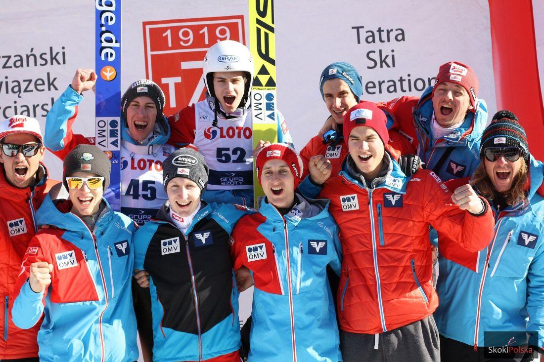 Austriacka drużyna kontynuuje świetne występy w Pucharze Kontynentalnym, fot. Julia Piątkowska