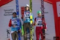 Podium drugiego konkursu (od lewej: Diethart, Wohlgenannt, Ziobro), fot. Julia Piątkowska