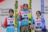 Austriacy na podium (Aschenwald, Wohlgenannt, Aigner), fot. Julia Piątkowska