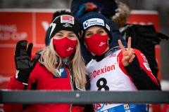 Chiara Hoelz i Eva Pinkelnig (fot. Daniel Maximilian Milata / Maxim's Sports)