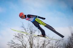 Karl Geiger (fot. Daniel Maximilian Milata / Maxim's Sports)