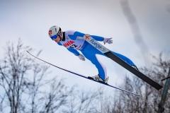 Marius Lindvik (fot. Daniel Maximilian Milata / Maxim's Sports)
