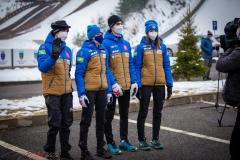Francuska drużyna, od lewej: Foubert, Clair, Batby, Pagnier (fot. Daniel Maximilian Milata / Maxim's Sports)