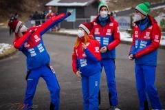 Rumuńska drużyna, od lewej: Haralambie, Trambitas, Cacina, Mitrofan (fot. Daniel Maximilian Milata / Maxim's Sports)