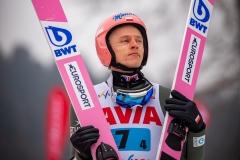 Dawid Kubacki (fot. Daniel Maximilian Milata / Maxim's Sports)