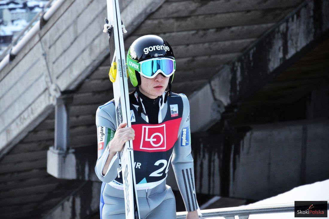 Anze Lanisek (fot. Maria Grzywa)