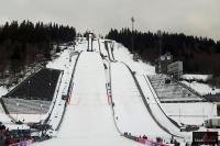 Kompleks skoczni \'Lysgaardsbakken\' w Lillehammer (fot. Maria Grzywa)