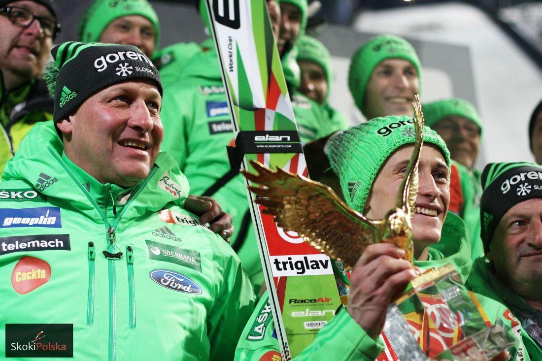 Słoweńska drużyna z Goranem Janusem i Peterem Prevcem (fot. Julia Piątkowska)