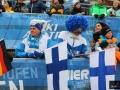 Fińscy kibice w Bischofshofen, fot. Julia Piątkowska